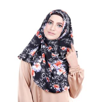Harga Cantik Kerudung Ariana Printed Spectacles and Earphone Friendly - No.7