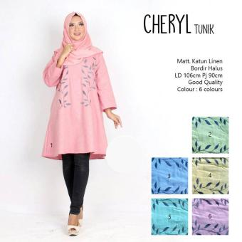Harga Not Specified TUNIK CHERYL (Green, Yellow, Turqoise)