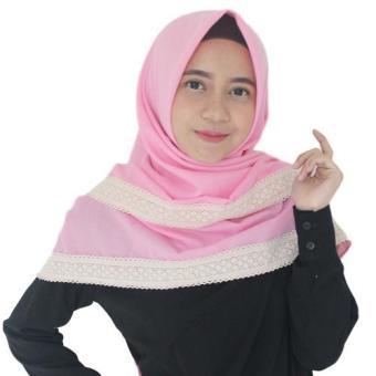 Parisku Hijab Pashmina Instant Katun Premium Shafira Yellow New Source Parisku hijab segiempat .