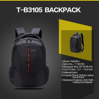 Harga Tas Ransel Laptop TIGERNU Anti Air Anti Maling/TIGERNU Tas Ransel Backpack Laptop Waterproof Anti-Theft