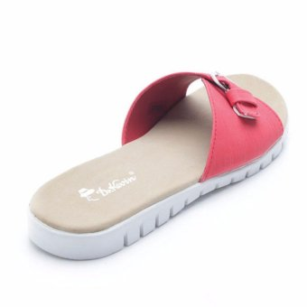 Dr. Kevin Woman Flat Sandals 27353 - Red - 3 .