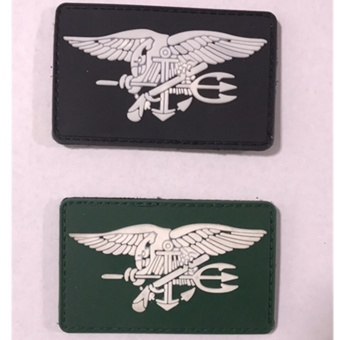 (2pcs/lot) tactical rubber velcro magic stick magic armband badge - intl