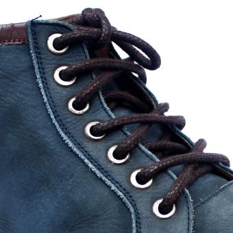 Mr. Sholeaces - Tali Sepatu Lilin Bulat Big 5mm - Coklat Tua