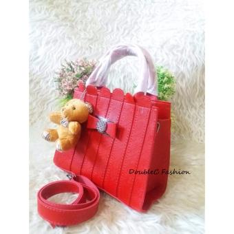 Harga DoubleC Fashion Natalie bags red
