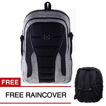 Gear Bag X-men Edition With laptop Slot - Light Grey -017, 158.800, Update. Gear Bag Tas Laptop Backpack - Light Grey + FREE Raincover ...