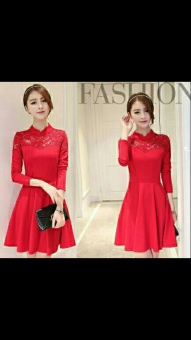 Harga Chakie Store 99 Dress Kelly lace red