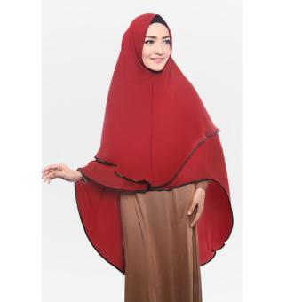 Harga Cotton Bee Khimar Mecca Merah