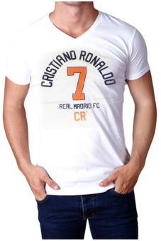 Harga QuincyLabel - CR 7 Madrid - White