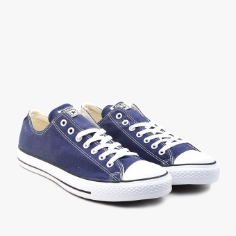 Harga Converse Chuck Taylor All Star Canvas Low Cut Sneakers Unisex Chuck Size - Navy