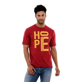 Harga Carvil Men Mar-A4 T Shirt Man - Maroon