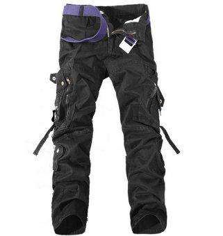 Men's Military Army Cargo Camo Combat outdoor Pants Without Belt - Intl ..