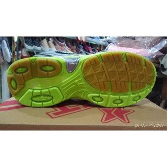 Pro ATT Sepatu Lari Pria Hijau Abu-abu - 4 .