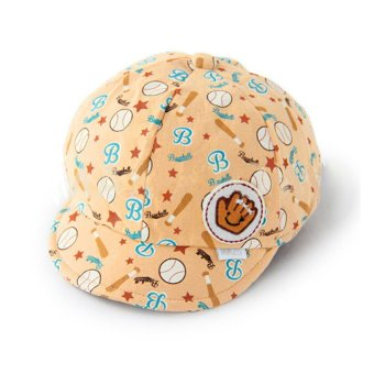 Harga PAlight Baby Kids Lovely Baseball Caps Beret Hats (Beige) - intl