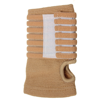 Harga Elastic Palm Wrap Hand Brace Support Wrist Sleeve Band Gym Sports Traning Guard - intl