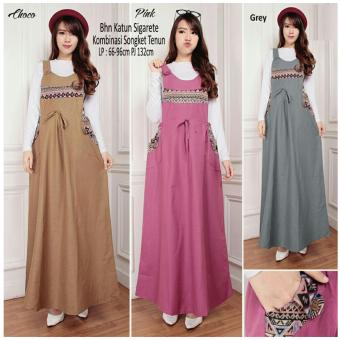 168 collection maxi dress arien overall-pink