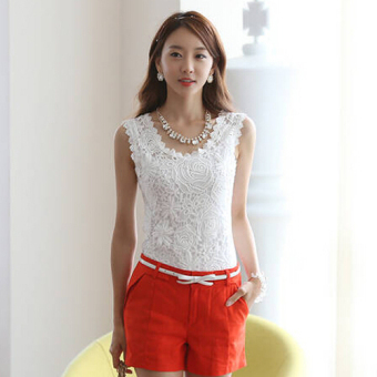 Menggantung Qiao Panas Gaya Korea Jual Baju Wanita Atasan Bergaris V Source · Oh Fashion Wanita