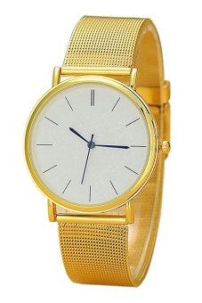 Harga Cocotina Quartz Women's Gold Stainless Steel Band Watch- INTL