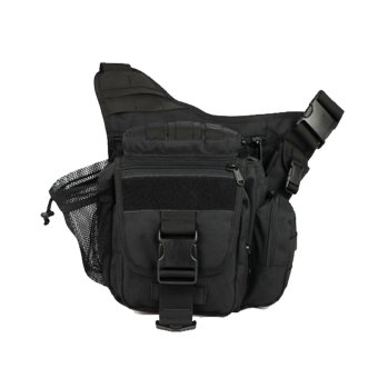 Harga Silver Knight Tas Slempang Army safety Import Slot Bottle - Hitam