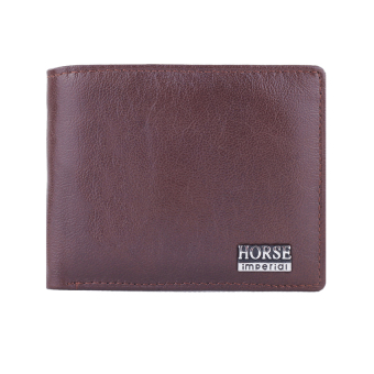 Harga Imperial Horse Castle Earth Leather Wallet - Brown