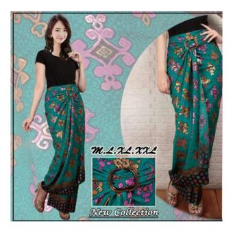SB Collection Rok Lilit Batik Tesa Long Skirt Multicolor