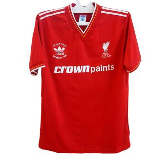 Jersey Retro Liverpool Final Wembley 1986 Original .