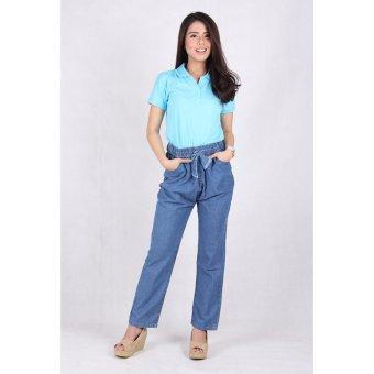 Celana Kulot Jeans Wanita (8203) ...
