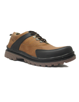 Harga Hikers Shoes Safety Boots Jellybean Leather Brown