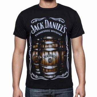 Blacklabel Kaos Hitam BL JACK DANIELS 01 T-Shirt Rock Star Metal Band Gothic .