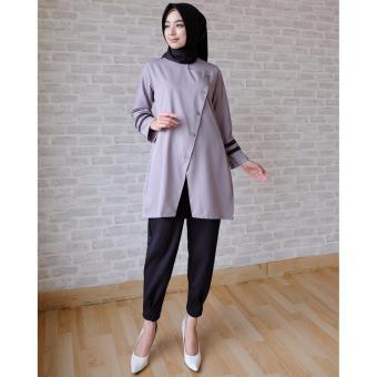 Ayako Fashion Tunik Sanna Ay Navy Daftar Harga Terkini dan Source · Ayako Fashion Tunic Long Sleeve Alexa Grey 2