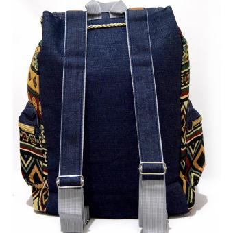 Ultimate Tas Backpack Unisex Pria Wanita   Punggung   Ransel Kuliah Fancy  Etnic . dafbc708c6