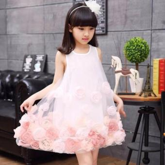Harga Mitun Dress Lace Bunga Pink