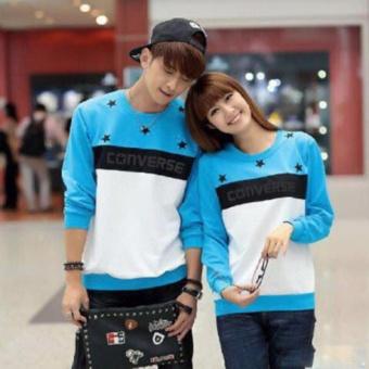 Kaos Couple Lengan Panjang | Baju Couple | Kaos Kapel | Pakaian Pasangan / Kembar