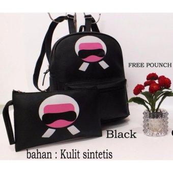 Spek Harga Lestari Fashion Tas Ransel 3in1 Back Pack Wanita Micky Source · Tas Ransel Set