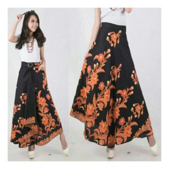 SB Collection Rok Maxi Yanti Long Skirt Batik-Hitam