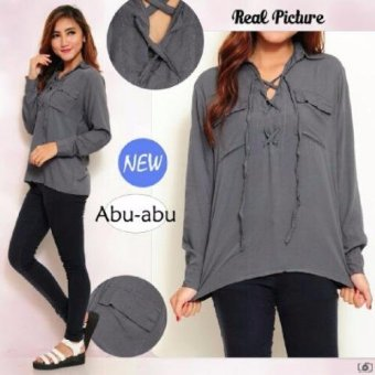 Harga Grateful Blouse Abu
