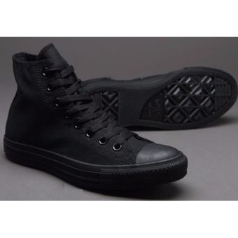 Harga Sepatu Sneakers All Star Classic HighCut Series - All Black