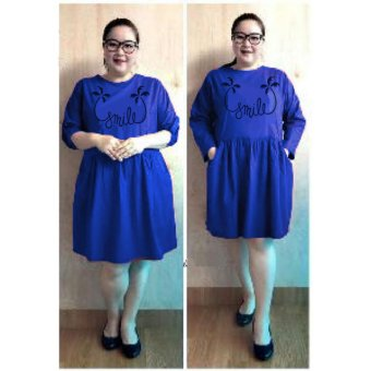 Harga Ayako Fashion Dress Wanita Smile Jumbo - (Benhur)