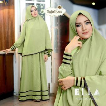 Harga Suki Dress Hijab Syfarose - Green