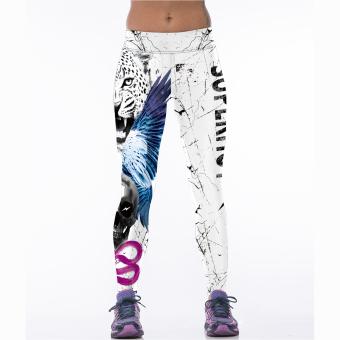 Fashion Wanita 3D Mencetak Lari Celana Ketat Celana Olahraga Yoga Kebugaran Gym Celana Seksi Binaraga Legging