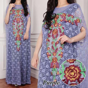 Harga Grateful Kaftan Mila - Purple