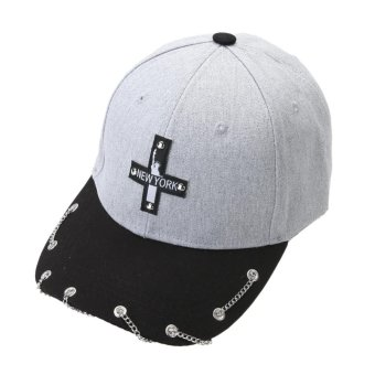 Unisex Hot Snapback Adjustable Baseball Cap Hip Hop Hat Cool Cap (Gray) - intl - 4