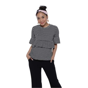 Zada x Ayla Stripes Shirt - Stripes