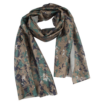 Harga Digital Camo Outdoor Jungle Mesh Scarf Headband