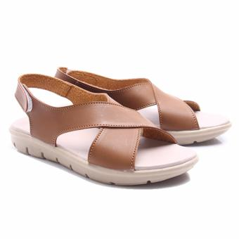 Harga Dr. Kevin Shoes Women Sandals 26118 - Brown