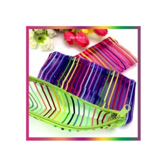 Fitur Tas Wanita Tote Bag Lacoste No Furing Import Premium Quality Source · Tas Dompet Kosmetik Mini Motif GARIS GARIS TMG1