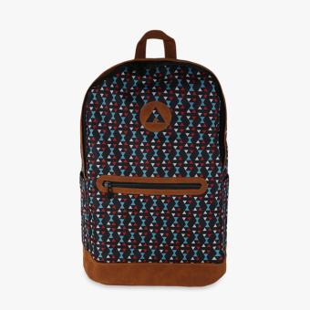 Harga Airwalk Melvin Printed Backpack - Hitam