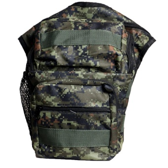 Harga QuincyLabel Tas Selempang Gear Bag Swiss Army Forced - Civil War - Green Army