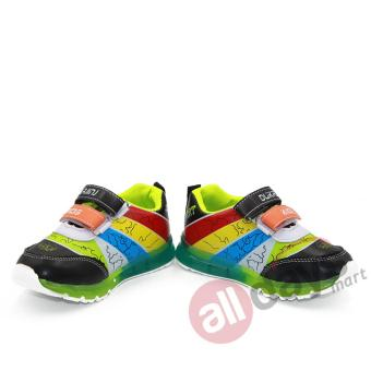 Sport Sepatu Anak LED 1067 86 Black 5