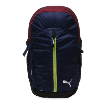 Harga Puma Apex Backpack - Peacoat-Limepunch