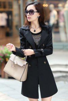 Jaket Coat Mantel Korea Wanita Selena Blazer Daftar Harga terbaik Source · Blazer  Coat Jas Wanita Keren Kate Hitam 200 000 Update Flavia Store Mantel 3fb360351f